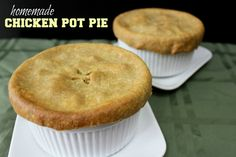 Homemade Chicken Pot Pie - Girl Meets Nourishment