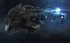 Battlecruiser | Harbinger Battlecruiser by CapnAhab