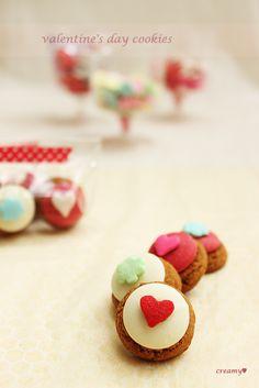 valentine's day cookies, cookies,  발렌타인 데이 쿠키,