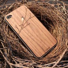 Wood iPhone case, nested