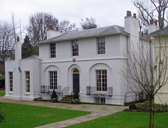 Keats House - in Hampstead, actually belonged to a friend. He moved here after the death of his brother & fell in love with their neighbour, the 18 year-old, Fanny Brawne. 'Ode to a Nightingale' was crammed onto two sheets of paper, while sitting below the plum tree here. The nesting nightingale sang above him, as he strove to capture the moment. Keats died aged only 25. NW3, Hampstead Tube. By diamond geezer on Flickr, 2011.