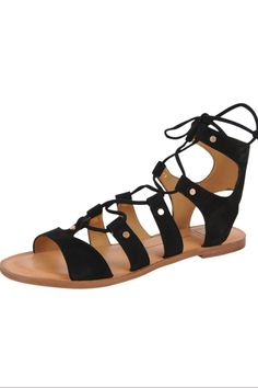 Jasmyn Lace Up Sandal is an easy comfortable fit for any foot. The lace up allows the sandal to fit any width.  These are great for everyday or dress them up with a cute summer dress. Jasmyn Lace Up by Dolce Vita. Shoes - Sandals - Flat Omaha, Nebraska