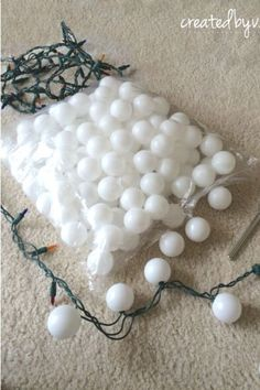 Decorate your home for cheap with these christmas lights in your living room, bedroom, and outdoor area. Easy and quick way to decorate with Christmas lights DIY. #hometalk Dollar Store Hacks, Dollar Store Crafts, Dollar Stores, Home Decor Furniture, Furniture Makeover, Diy Home Decor, Christmas Time Is Here, Christmas Crafts, Christmas Christmas