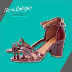 Uma semana com muitas novidades pro dia das mães! ❤️   •Seja prática! Compre Online: www.paralelas.com.br  #omelhorpresente #diadasmaes #vidascomestilo #modaporprecojusto #sandalia #shoes #paralelas
