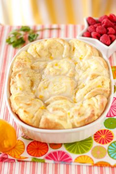 Lemon Cheesecake Morning Buns Recipe ~ Says: These morning buns could easily double as dessert. They are fluffy, gooey, tangy, buttery, and beyond delicious.