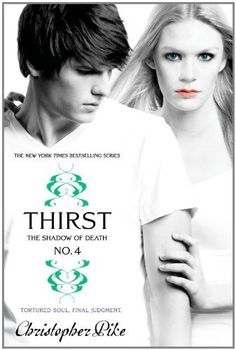 Thirst No. 4: The Shadow of Death by Christopher Pike, http://www.amazon.com/gp/product/1442413190/ref=cm_sw_r_pi_alp_lZEWqb1BDJX50
