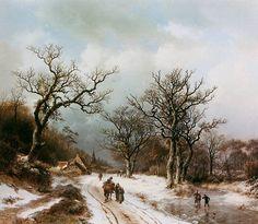 Barend Cornelis Koekkoek (1803-1862). Обсуждение на LiveInternet - Российский Сервис Онлайн-Дневников
