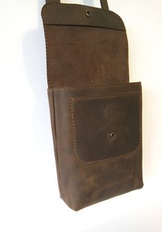 Leather Bag Handmade Bag Brown leather bag от NEworkshopUA