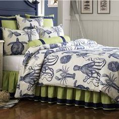 beach themed college bed set - Google Search