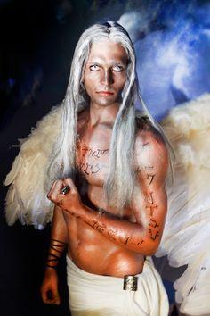 Anjos que são reais Modelo Pablo Varez Make-Up Anderson Elyjah Calixto Atelier Calixto Make-Up