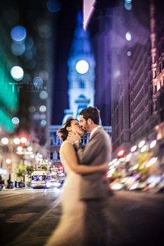 # KISSING IN THE CITY- Freelensing Shot By JD Land