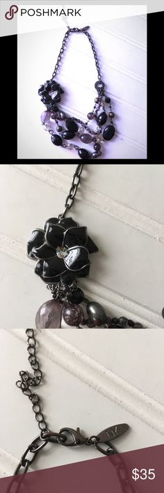 """New York & Company Black Necklace New York & Company Black Necklace  Length when clasp 10"""" New never worn Excellent condition  ✴️See matching bracelet in my listing which is sold separately✴️ New York & Company Jewelry Necklaces"""