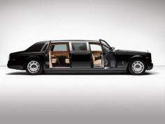 The Rolls-Royce Phantom is an extraordinarily luxurious four-door sedan. After BMW bought Rolls-Royce in the. Rolls Royce Limousine, All Kinds Of Everything, All Cars, Nice Cars, Rolls Royce Phantom, L Shaped Sofa, Garage, Luxe Life, Most Expensive