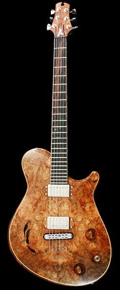 CROW HILL Palomino | Chambered Semi-Hollowbody Electric Guitar