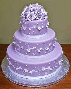 Victorian Lilacs by Jacques Fine European Pastries – wow, that's purple! :)