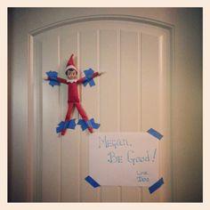 Elf on the shelf ideas Christmas 2013