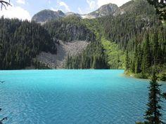 Joffre Lakes Provincial Park in British Columbia, Canada. Dieser Park befindet… Whistler, British Columbia, Joffre Lake, Canada Travel, Park, Lakes, River, Mountains, Nature