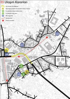 3. Ödül - Selimiye Camii Çevresi Ulusal Kentsel Tasarım Proje Yarışması Architecture Panel, Architecture Graphics, Concept Architecture, Architecture Design, Urban Design Plan, Urban Design Diagram, Site Analysis, Urban Analysis, Concept Diagram