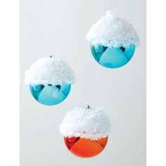 Snow Capped Ornament