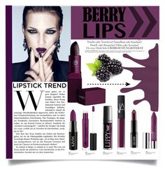 """Blackberry Lips"" by carlavogel ❤ liked on Polyvore"