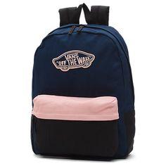 Shop Realm Backpack today at Vans. The official Vans online store. Vans Backpack, Rucksack Backpack, Fashion Backpack, Tumblr Backpack, Mochila Jansport, Cute Backpacks For School, Vans Bags, Vans School Bags, Dwyane Wade