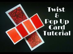 Twist & Pop Up Card