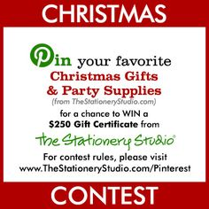 The Stationery Studio Christmas Contest