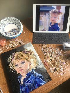 Mosaic Portrait, Mosaics, Artist, Projects, Log Projects, Blue Prints, Artists, Mosaic