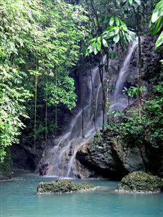 Paradise is these waterfalls in Portland, Jamaica (photo courtesy of Jamaican photographer Pierre Diaz) Jamaica Vacation, Need A Vacation, Jamaica Jamaica, Beautiful Islands, Beautiful Places, Beautiful Scenery, Port Antonio Jamaica, Enjoy The Sunshine, Heaven On Earth