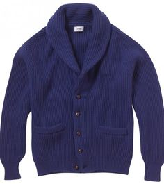 Iconic Four Ply Cashmere Shawl Collar Cardigan - Knitwear - Online Shop - Drakes London