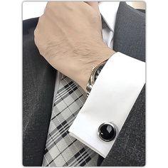 Elite & Luck Cufflinks Lookbook photo on Instagram @eliteandluck #Luxury #Gemstone #Cufflinks #CrystalHealing