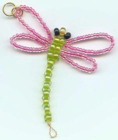 Bead dragonfly
