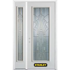Unique Stanley Steel Entry Door