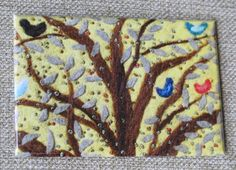 If you love nature--especially trees and birds--you will enjoy each magnet in this collection!