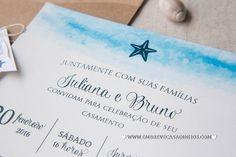 Convite Praiano Estrela