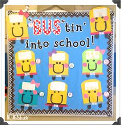 It's almost THAT time again….Back to School!  If you're like me, you need an easy, fun, cute craft to start the year off right….something you can get up on your bulletin board asap and have everyone loving how cute it is, while only you know it was easy peazy! This pack is for you if you need all of the above! It may be a
