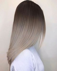 Blackberry Hair Color: The Trendiest Hair Color - Stylendesi .- Blackberry Hair Color: The Trendiest Hair Color – Stylendesigns Ombre Hairstyle Natural Ombre # Doğalombr to to # Griombresaçmodel of to # Ombresaç - Natural Ombre Hair, Natural Hair Styles, Short Hair Styles, Brown Blonde Hair, Gray Hair, Ombre Hair Color, Grey Ombre, Balayage Hair, Ashy Blonde Balayage