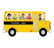 Illustration about Illustration of a school bus heading to school with four happy children.black out the school bus title to personalize. Illustration of clip, colorful, kids - 2845000 Murals For Kids, Big Yellow, Unique Wall Decor, School Photos, Happy Kids, Preschool Crafts, Cake Decorating, Decorating Ideas, Stock Photos