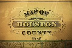 Map of Houston County