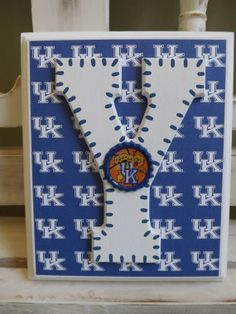 University of Kentucky Wildcats Custom Initial Wall Letters Monogram Name Personalized Boys Room New Baby Shower