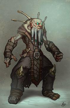 Undead Dwarf by ExoMemory.deviantart.com on @deviantART