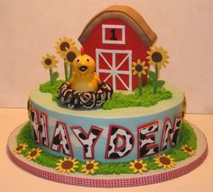 These cakes are beyond beautiful! The Icing on the Cake: First Birthday Cakes