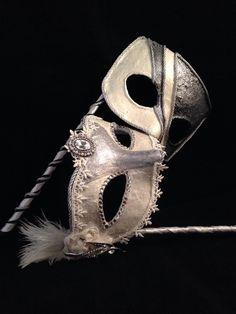 Bride and Groom - Custom Venetian Mask by MaskedEnchantment on Etsy https://www.etsy.com/listing/261186511/bride-and-groom-custom-venetian-mask