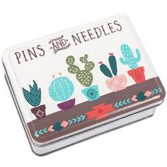 Wholesale Pins & needles tin - Something Different