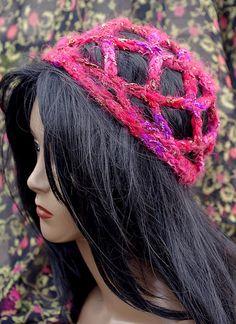 Romantic Renaissance Juliet Hat Crochet Pattern Free  Ship. $3.50, via Etsy.