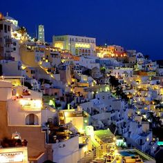 Blue Dusk, Thira, Greece