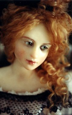 dollmaker Anna Brahms  Can't imagine more beautiful dolls than these.
