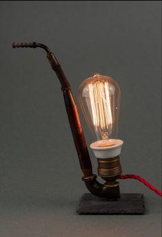 Objekt# Kunst# Lampe# Light Bulb, Table Lamp, Lighting, Design, Home Decor, Art, Sculptures, Artworks, Kinetic Art
