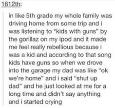 I started crying too. With laughter Funny Quotes, Funny Memes, Hilarious, Jokes, Funny Stuff, Funny Tumblr Posts, I Love To Laugh, Gorillaz, Musica