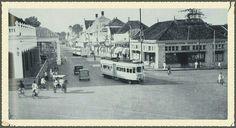 Rijswijkstraat te Batavia circa 1920-1950.